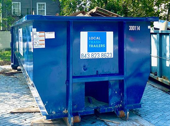 roll off dumpster rental charleston